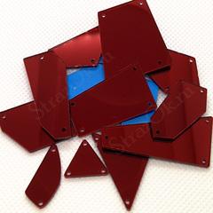Купить Dark Siam темно-красные пришивные зеркала в наборе