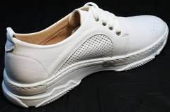 Женские стильные кроссовки для повседневной жизни Derem 18-104-04 All White