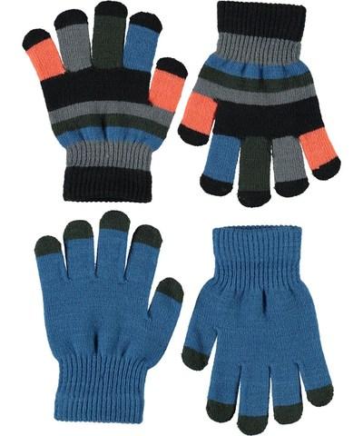 MOLO Keio перчатки демисезонные для мальчика (в комплекте 2 пары)