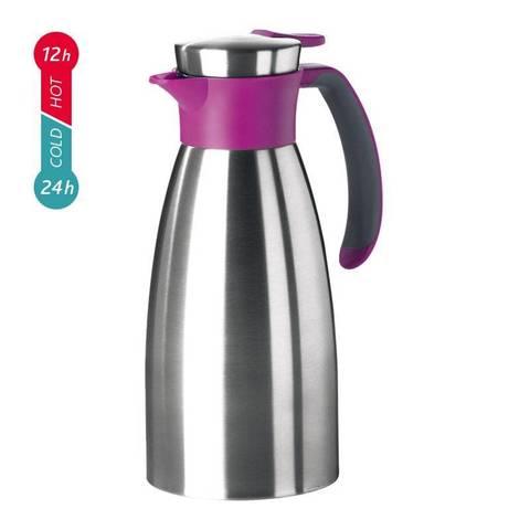 Термос-чайник Emsa Soft Grip (1,5 литра), малиновый