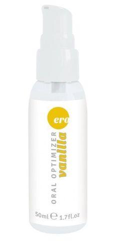 Увлажняющий гель для орального секса с ароматом ванили - 50 мл.