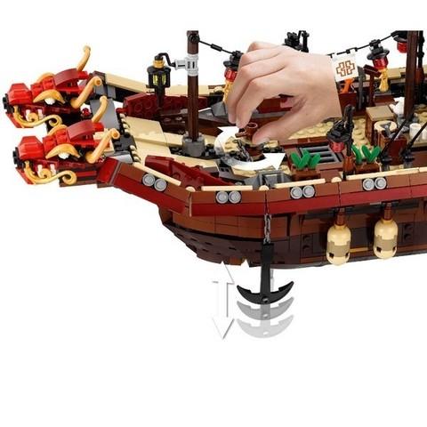 LEGO Ninjago Movie: Летающий корабль Мастера Ву 70618 — Destiny's Bounty — Лего Ниндзяго Фильм