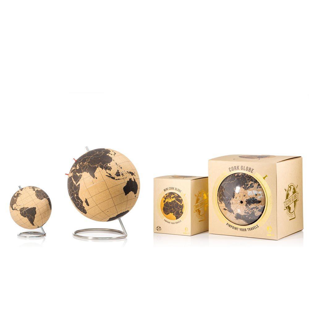 Малый пробковый глобус для путешественников 14 см Suck UK SK CORKGLOBE2 | Купить в Москве, СПб и с доставкой по всей России | Интернет магазин www.Kitchen-Devices.ru