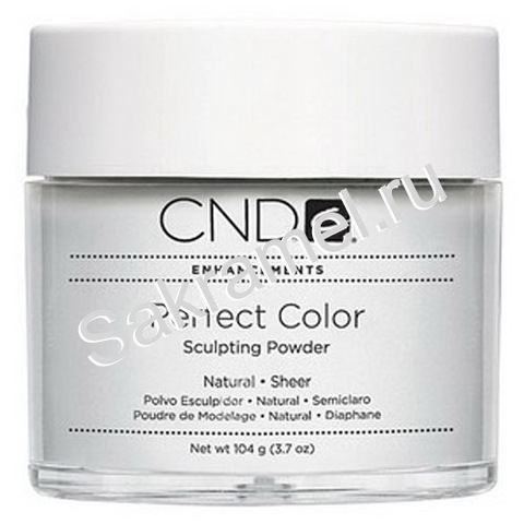 CND - Акриловая пудра Perfect  Powders Natural Sheer 104 гр