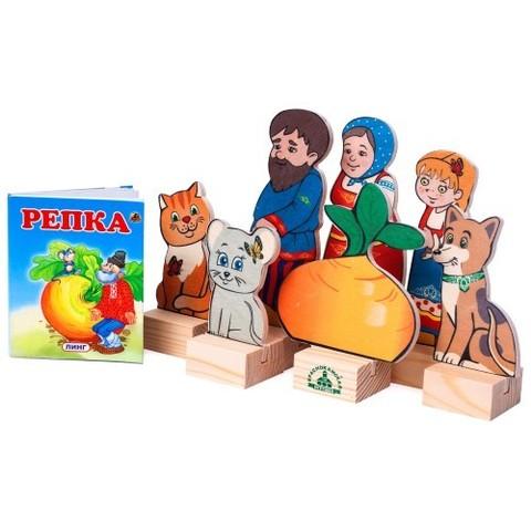 Кукольный театр Персонажи сказки  Репка, Краснокамская игрушка