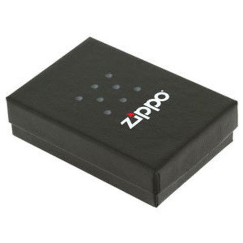 Зажигалка Zippo Classic с покрытием High Polish Chrome, латунь/сталь, серебристая, глянцевая, 36x12x123