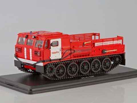 ATS-59G Artillery tractor fire engine Tolyatti 1:43 Start Scale Models (SSM)