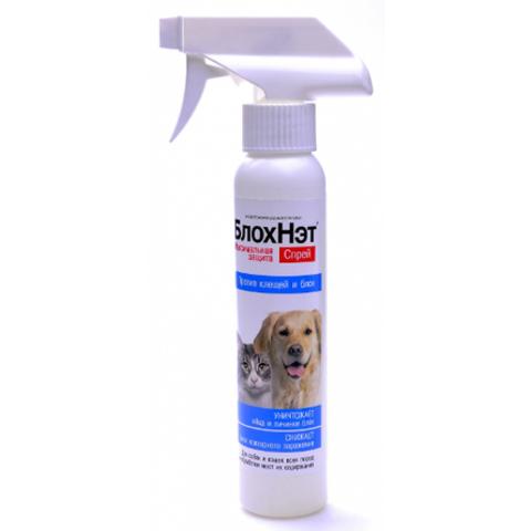 БлохНэт спрей антипаразитарный для кошек и собак