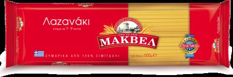 Спагетти Лазанаки (Лингвини) MAKVEL 500 гр.