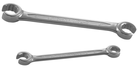 W241011 Ключ гаечный разрезной, 10х11 мм