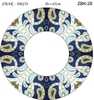 Эскиз для росписи, Зеркало диаметр-45см, SMAR-ZBK-28