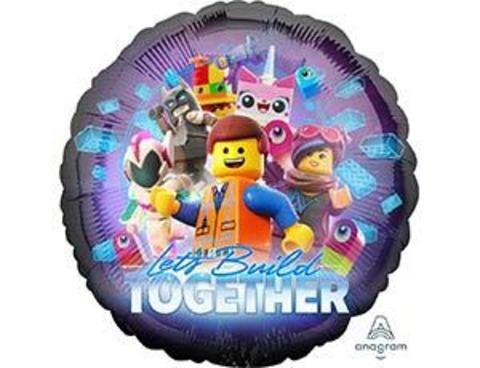 Фольгированный шар Лего