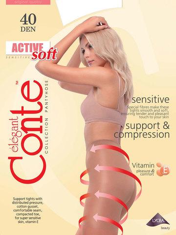 Колготки Active Soft XL 40 Conte