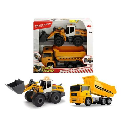 Набор Construction Twin Pack 30 см, свет/звук