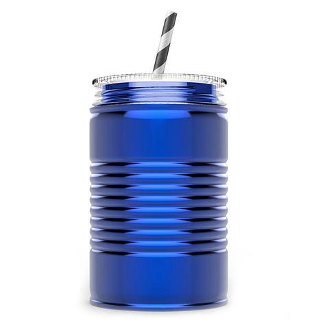 Кружка Asobu I can (0,54 литра), голубая