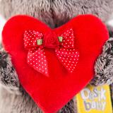 Кот Басик Baby с красным сердечком