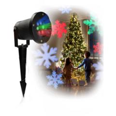 Новогодний лазерный проектор Led Strahler Schneeflocke