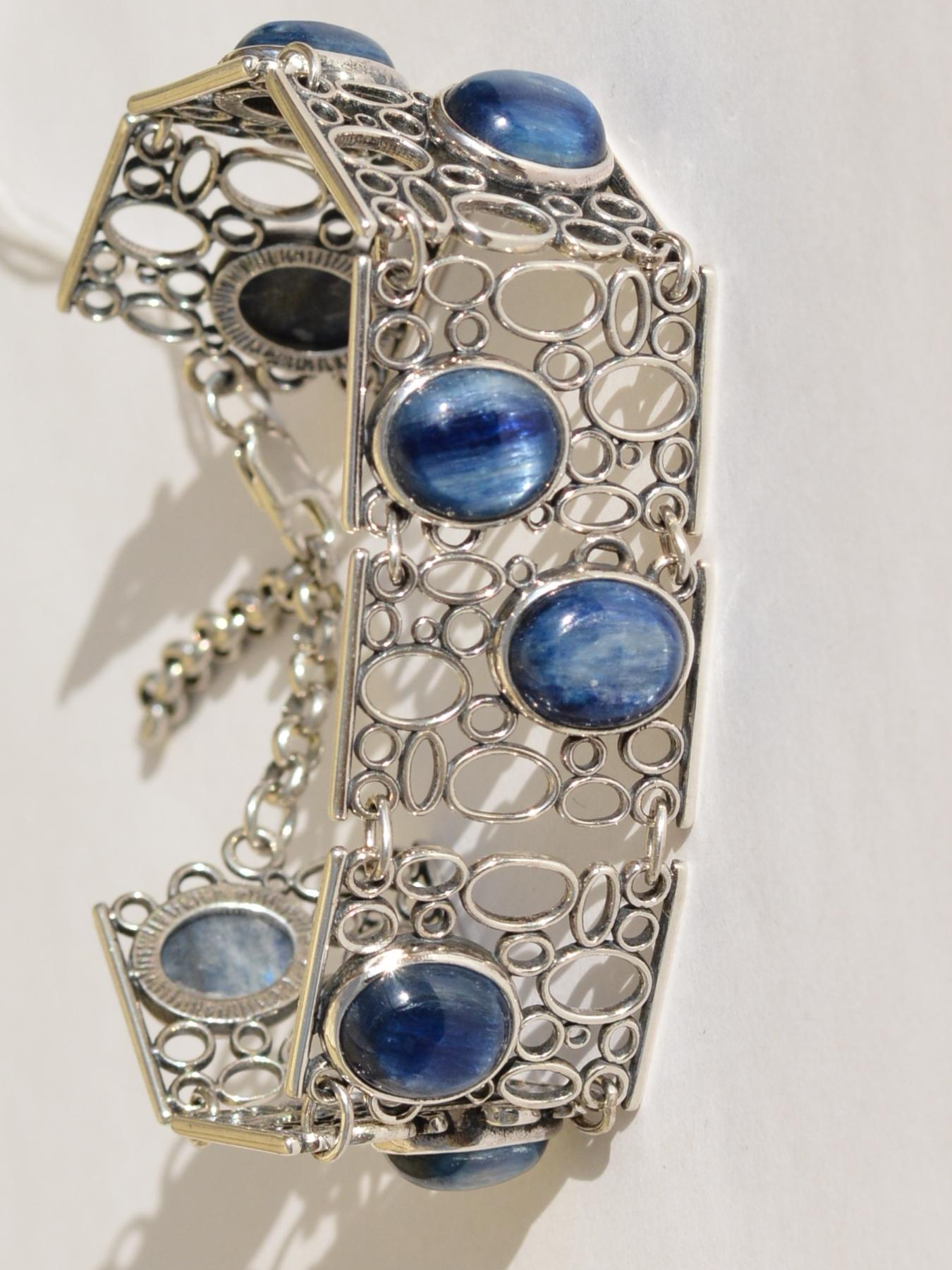Иволга (браслет из серебра)