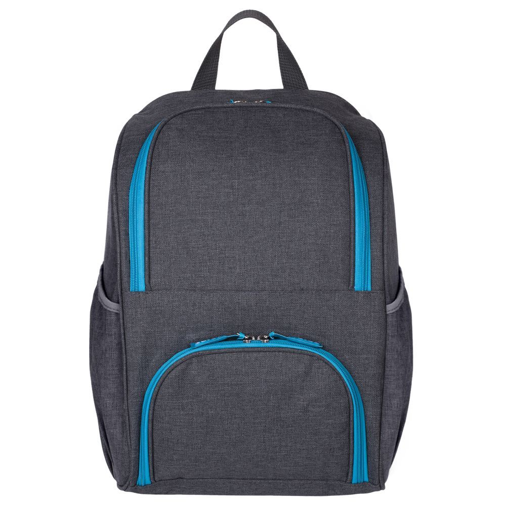 Liten Fest Isothermal Backpack, grey with blue