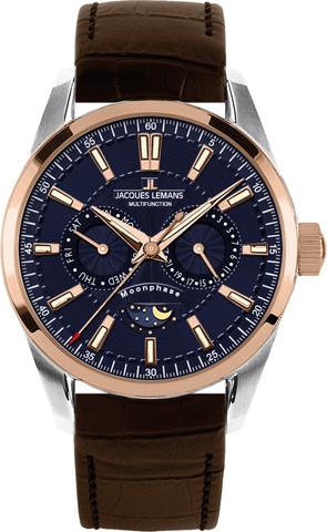 Купить Наручные часы Jacques Lemans 1-1804D по доступной цене