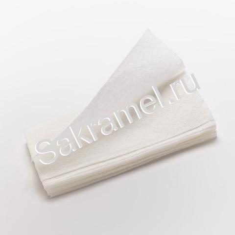 Бумажные полотенца Belux (Бумага, белый, 200 шт/упк, V-сложения)