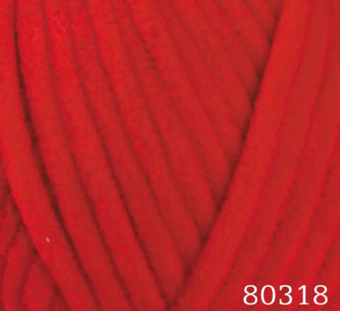 Пряжа Himalaya Dolphin Baby арт. 80318 красный