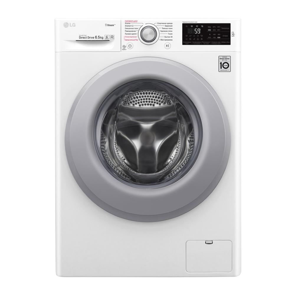Узкая стиральная машина LG с функцией пара Steam F2M5WS4W фото