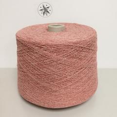 Fashion Mill, Golfino, Хлопок 40%, Полиакрил 30%, Лен 30%, Нежный светло-розовый, 1/7.5, 750 м в 100 г