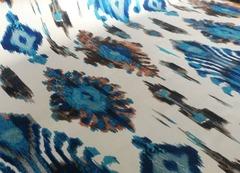 Флок Аурели сине-коричневый