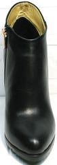 Ботиночки ботильоны Jina 5992 Black