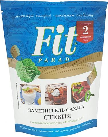 Заменитель сахара ФитПарад №14, допайк 200 гр. (Питэко)