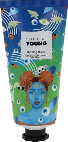 SelfieLab Young Матирующая маска для лица 50г