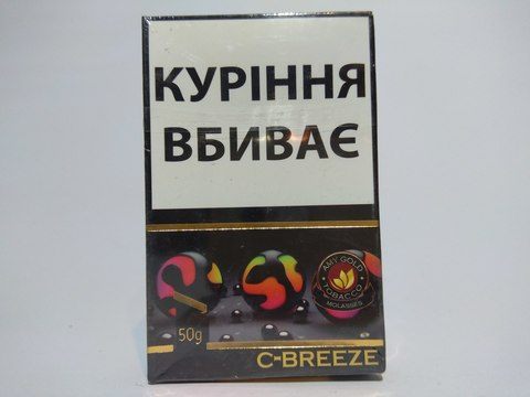 Табак для кальяна AMY Gold C-Breeze 50 гр