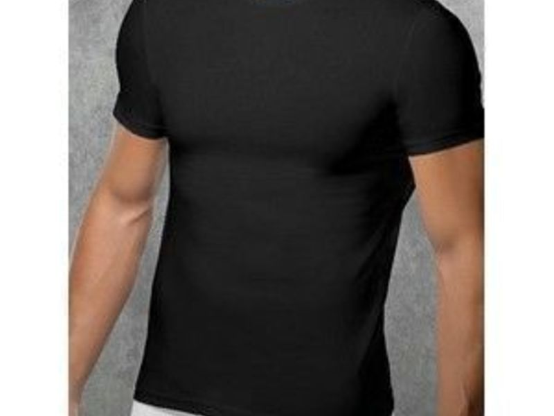 Мужкая футболка черная Doreanse 2550 Black