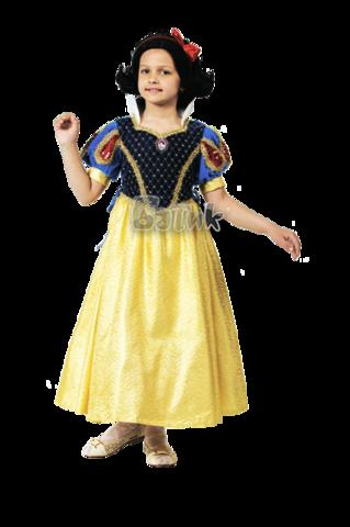 Карнавальный костюм принцесса Белоснежка (бархат)