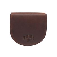 Монетница Klondike Dawson, коричневая, 8,5х2х7,5 см