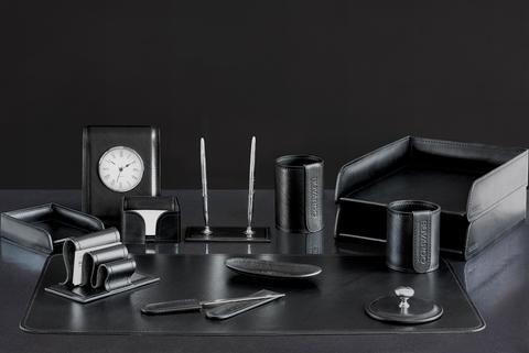 Набор руководителя 13 предметов из кожи FG Black