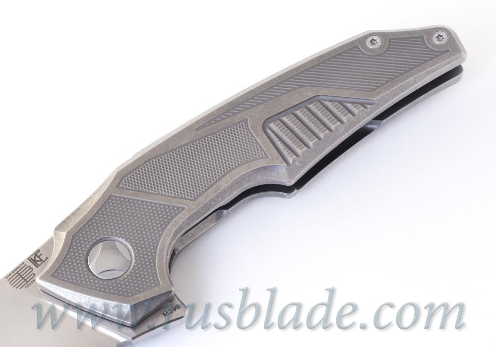 Muscle Satin CKF and Tashi Bharucha NEW Knife Limited