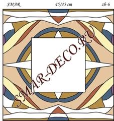 Эскиз для росписи, Зеркало 45/45см, SMAR-zb-6