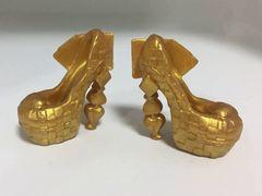 Туфли золотистые для кукол Эвер Афтер Хай и Монстр Хай