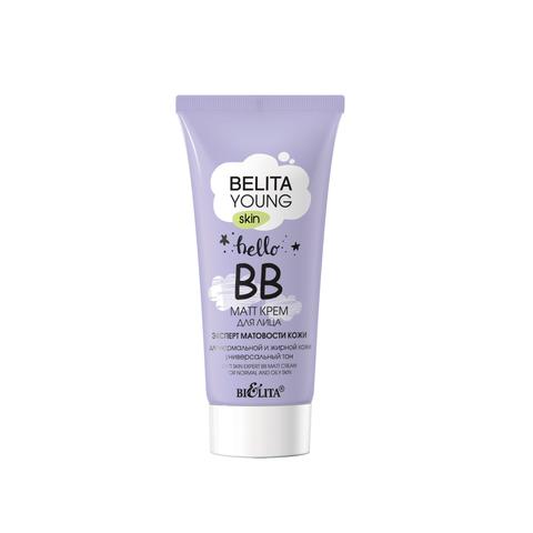 Белита Belita Young Skin Крем ВВ-matt для лица для нормальной и жирной кожи 30мл
