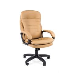 Кресло VT_EChair-515 TPU иск.кожа бежевая, пластик