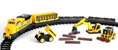 Chap Mei Строительный Экспресс 16 элементов, с дорогой 261 см., 3 вагона, свет и звук (548062)