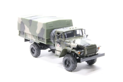 Ural-43206 with awning camouflage Elecon 1:43