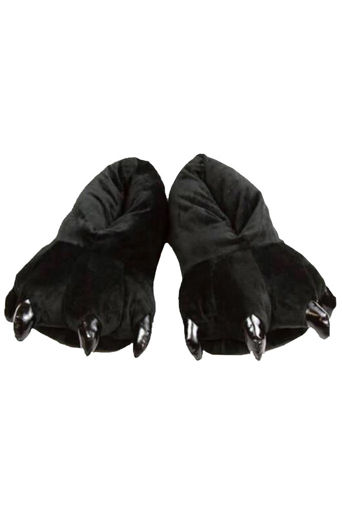 Тапки кигуруми Тапки кигуруми черные slippers-black.jpg