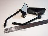 Зеркала HT Honda Steed Magna Shadow универсальные чёрные