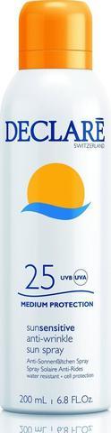 Солнцезащитный спрей SPF 25 с омолаживающим действием