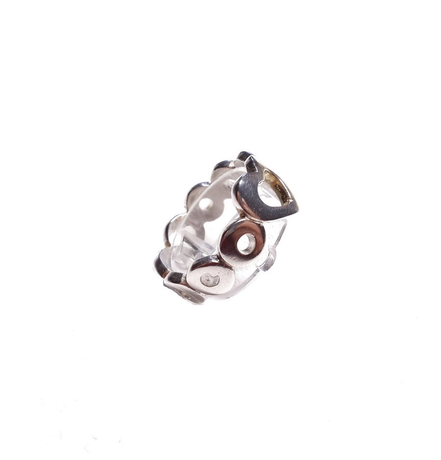 Ring Heart, Sterling Silver