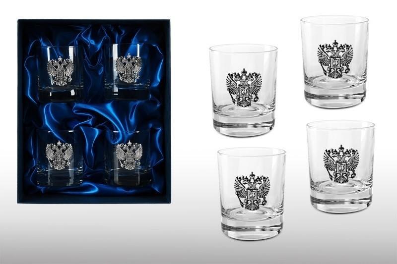 Подарочный набор стаканов для виски «Представительский» набор стаканов для виски 6 шт bohemia набор стаканов для виски 6 шт