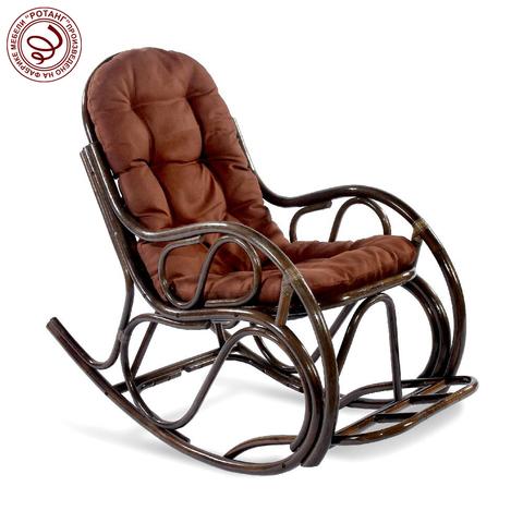 Кресло-качалка с подножкой Bitter chocolate
